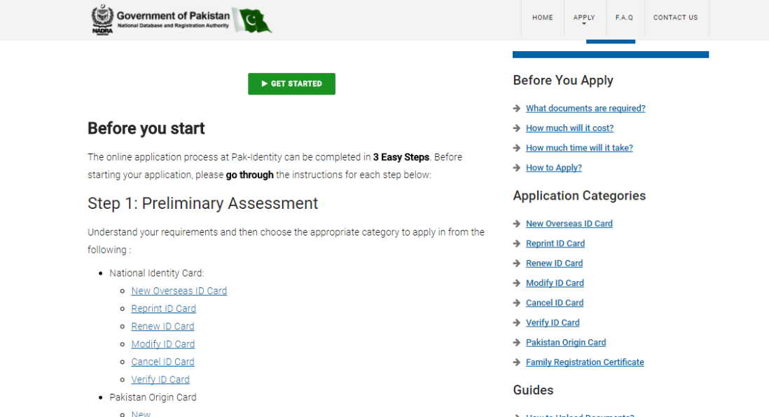 NADRA Pakistan Online CNIC Service: ID Card Process Made Easy
